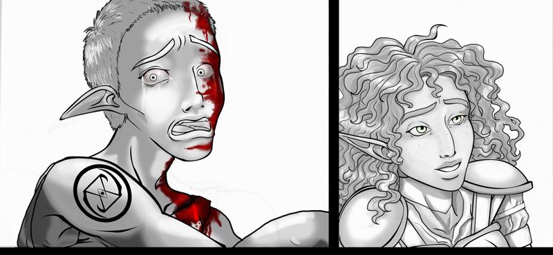 Uncolored Image - sketch